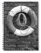 Canal Lifesaver Spiral Notebook