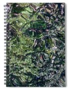 Canal Reflections Abstract Spiral Notebook
