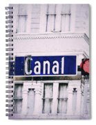 Canal Street In The Big Easy Spiral Notebook