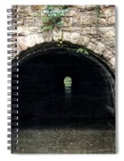Canal Tunnel 2 Spiral Notebook