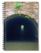 Canal Tunnel 3 Spiral Notebook