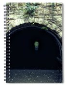 Canal Tunnel Spiral Notebook
