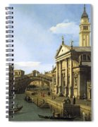 Canaletto Spiral Notebook