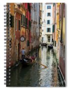 Canals Of Venice Italy Spiral Notebook