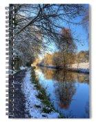 Canalside Winter Wonderland Spiral Notebook
