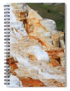 Canary Spring Mammoth Hot Springs Upper Terraces Spiral Notebook