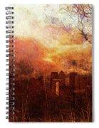 Canary Wharf Dawn Spiral Notebook