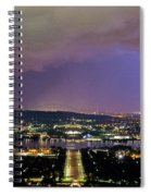 Canberra Stormy Night Spiral Notebook