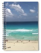 The Best View Of The Beach Spiral Notebook