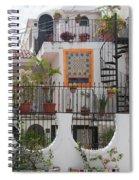 Cancun City Scenes Spiral Notebook