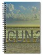 Cancun In 2015 Spiral Notebook
