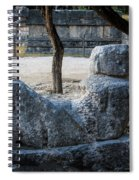 Cancun Mexico - Chichen Itza - Mayachacmool Spiral Notebook