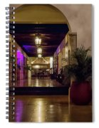 Cancun Mexico - Chichen Itza - Mayan Dining Hall Spiral Notebook