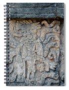 Cancun Mexico - Chichen Itza - Mosaic Wall Spiral Notebook