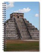 Cancun Mexico - Chichen Itza - Temple Of Kukulcan-el Castillo Pyramid 2 Spiral Notebook