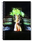 Cancun Mexico - Chichen Itza - Temple Of Kukulcan-el Castillo Pyramid Night Lights 5 Spiral Notebook