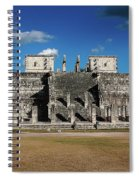 Cancun Mexico - Chichen Itza - Temple Of The Warriors Spiral Notebook
