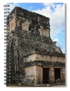 Cancun Mexico - Chichen Itza - Temples Of The Jaguar On The Great Ball Court Spiral Notebook