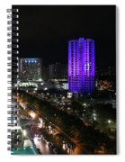 Cancun Mexico - Downtown Cancun Spiral Notebook