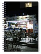 Cancun Mexico - Eating Out In Cancun Spiral Notebook