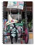 Cancun Mexico - Tulum Ruins - Souvenirs Spiral Notebook