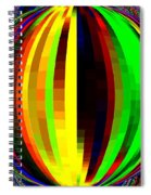 Candid Color 4  Spiral Notebook