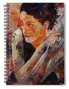 Candid Eyes Spiral Notebook