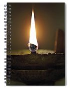 Candle 2 Spiral Notebook