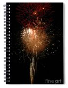 Candle Burst Spiral Notebook