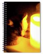 Candlelight Spiral Notebook