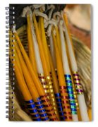Candles 1 Spiral Notebook