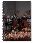 Candles For Maria Spiral Notebook