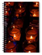 Candles For Mother Maria Spiral Notebook