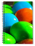 Candy Coated Spiral Notebook