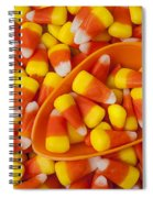 Candy Corn Spiral Notebook
