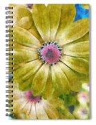 Candy Garden Spiral Notebook
