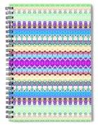 Candy Glitch Spiral Notebook
