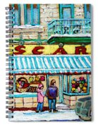Candy Shop Spiral Notebook