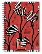 Candy Stripe Tulips 2 Spiral Notebook
