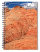 Candycane Landscape Spiral Notebook