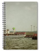 Canim And Milwaukee Pierhead Spiral Notebook