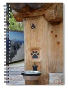 Canine Catering  Spiral Notebook