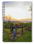 Cannon At Fort Boreman Spiral Notebook