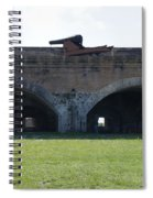 Cannon At Fort Pickens Spiral Notebook