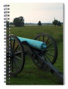 Cannon At Gettysburg 2 Spiral Notebook