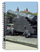 Cannon At The Castillo Spiral Notebook