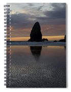 Cannon Beach At Sunset 7 Spiral Notebook