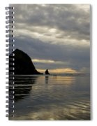 Cannon Beach Reflections Spiral Notebook