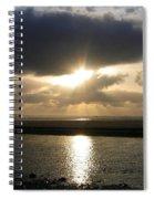 Cannon Beach Sunburst Spiral Notebook