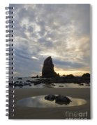 Cannon Beach Sunset 1 Spiral Notebook